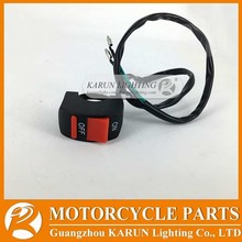 Universal Motorcycle ATV Bike Handlebar Kill Stop Switch ON OFF Button Bullet Connector