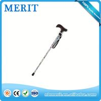 Old People Walking Sticks And Canes ,6 Led Light For The Disabled Walking Cane,Elderly Care Products Folding Stool Walking Stick