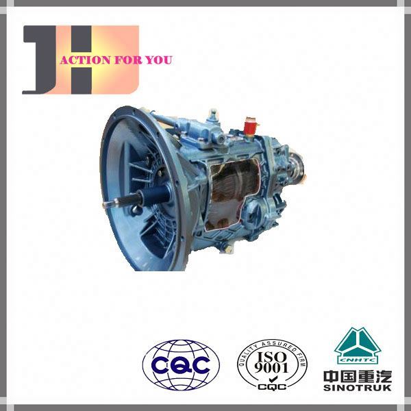 TRUCK PARTS SINOTRUK HOWO Original HW15710 HW19710 Gearbox Parts The Transmission The gear cover AZ2222210001