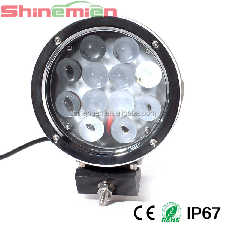 High Power Off Road 12v 24v 60w Led Working Light SUV 4X4 CREE 60W LED WORK LIGHT