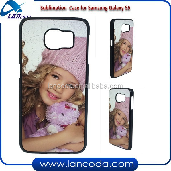 New arrival sublimation cover for Samsung Galaxy S6 G9200,sublimation mobile phone case,sublimation phone cover