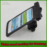 new product waterproof mobile phone bag with bicycle stand holder