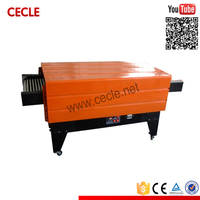Low price cheese box heat shrink wrapping machine