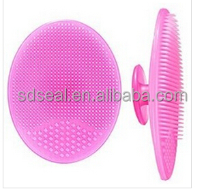 Silicone Makeup Washing Brush Facial Massager Board Cleaning Mat Soft hair wash Pad