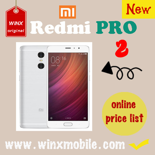 2017 arrival! Redmi pro2 pro 2 Original RAM 4GB 6GB ROM 128GB 4500mAh 12MP camera redmi mi mobile phone hot sale