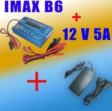 IMAX B6 2S-6S AC/DC LiPo NiMH battery Balance Charger & Leads + AC Adapter