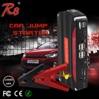 spirit car booster jump starter TM18B 12V 10000mAh portable lithium battery for gasoline/diesel cars with tool box