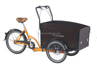 kNexus 7 speeds pedel three wheels cargo bike bakfiet/transport trike/reverse trike