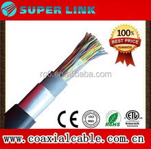 2017Superlink indoor outdoor jelly filled 10 20 25 50 100 Pairs underground cat5 Telephone Cable
