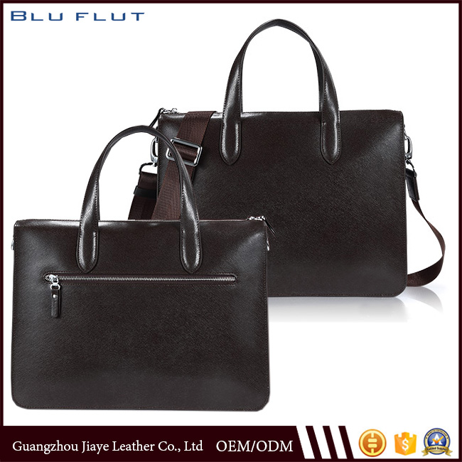 New Grey All-match Trend Leather Crossbody Men's Tote Bags Genuine Handbags