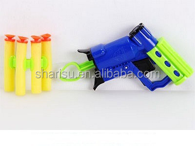13cm kid paint cheap plastic soft foam bullets toy gun safe