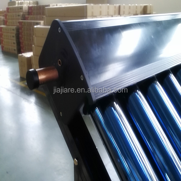 Solar Keymark approved Heat pipe vacuum tube solar collector