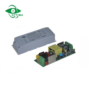 20w 30w 45w 60w 80w 12V 24V dc Constant Voltage Dimmable LED Driver 0-10V/PWM/DALI Dimming LED Strip