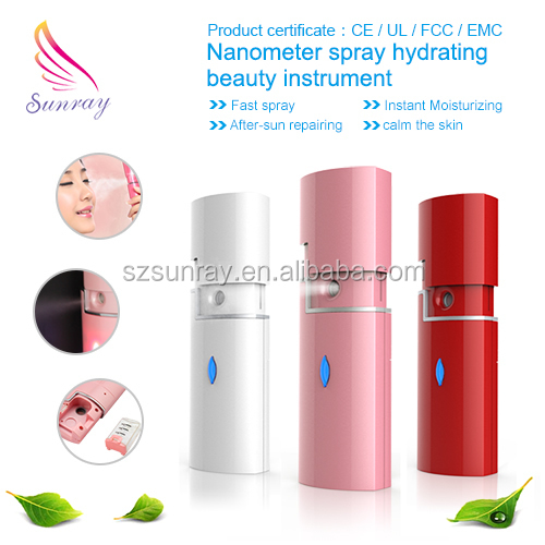 hot selling cheap mini Deep Cleansing Facial Nano Silver Spray