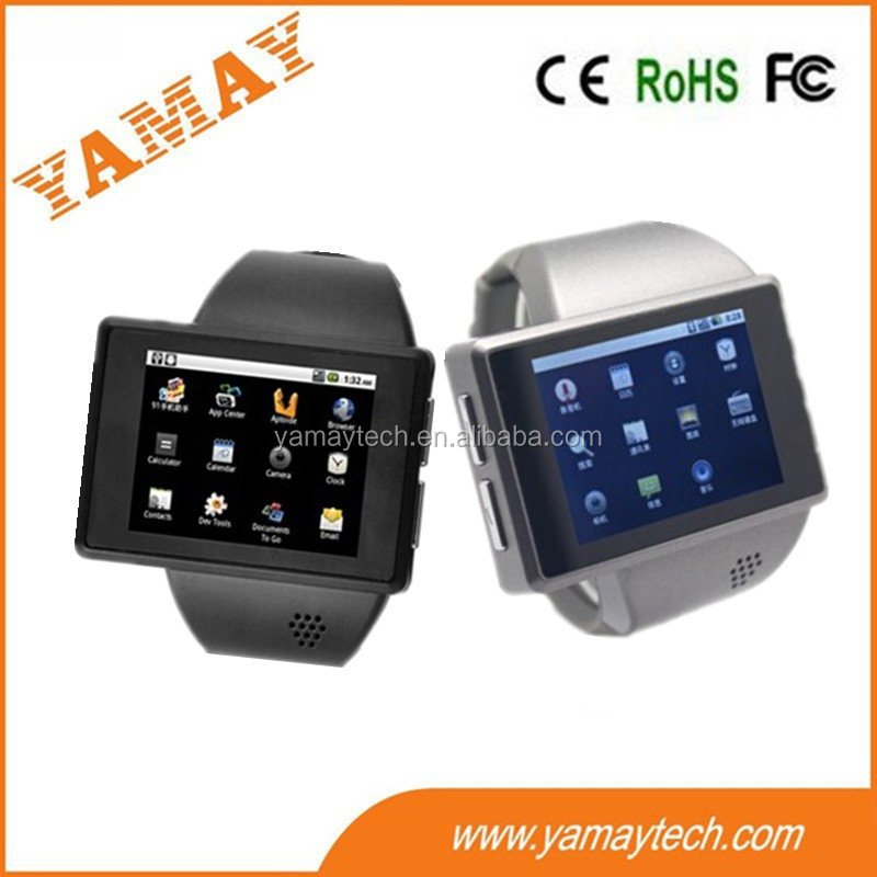 MT6515 dual core CPU fitness smart watch phone WIFI/BT/GPS support