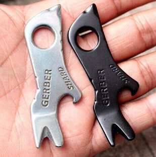 7in1 Multifunctional Crowbar Screwdriver Bottle Opener EDC Outdoor Survival Kit Camping Hand Tools Tactical Bushcraft Equipment