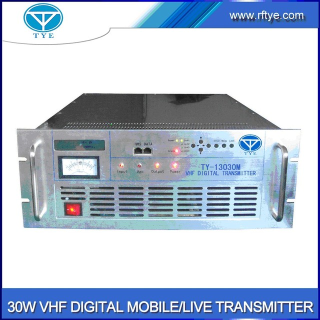 TY-13030M 30w COFDM mobile vhf transmitter point-to-to point transmitting system