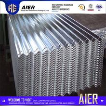 corrugated iron 24 gauge galvanized sheet metal roofing price with high quality