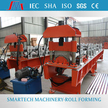 Color Steel Ridge Tile Roofing Cold Roll Forming Machine , Metal Ridge Cap Roll Former