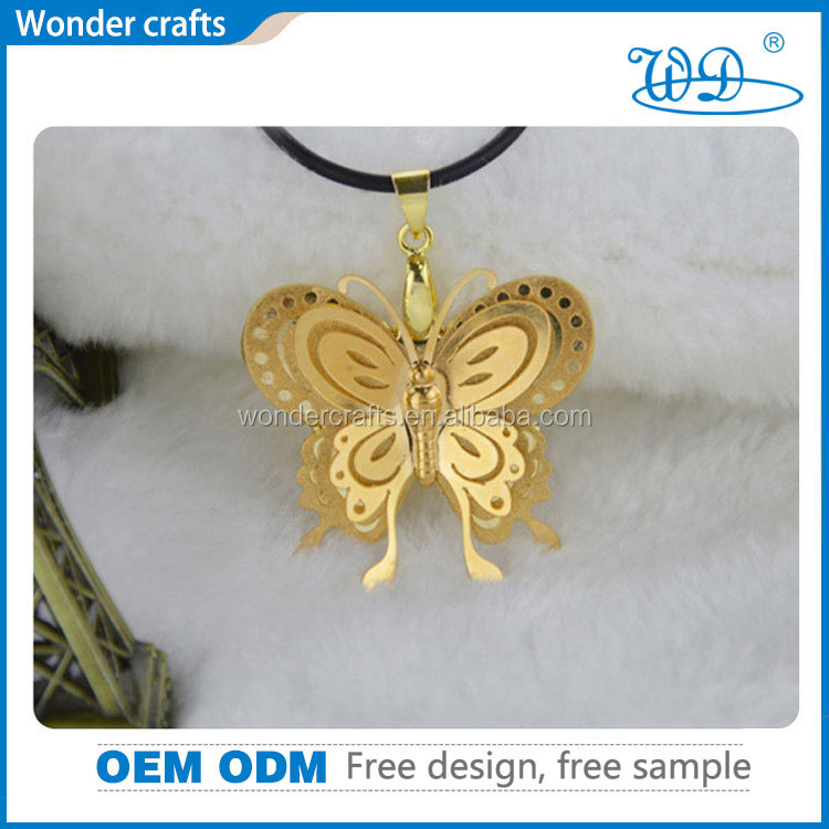 18 <strong>K</strong> well designed gold pendant chain fashionable jewelry fashion dainty statement necklace 2015