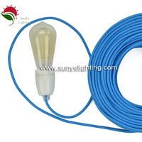 Electrical Wire/Textile Cable/Fabric Cable Cotton Cable Wire coated copper wire