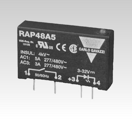 PCB or socket mounting 1-phase SSR Solid State Relay impulse relay