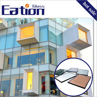 2016 Coated Window Glass Energy-saving Building Glass