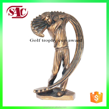 New Design Factory Golf Polyresin World Replica Award Sport Trophy Cup