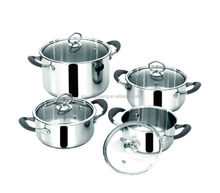 hot selling products 8pcs set stainless steel pot/cooking pot/hot pot