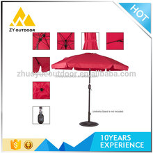 Hot sale solid Personalized Advertising fancy parasols