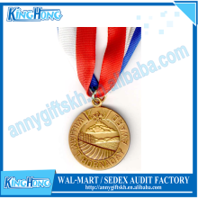Wholesale production school cheap award running military medal