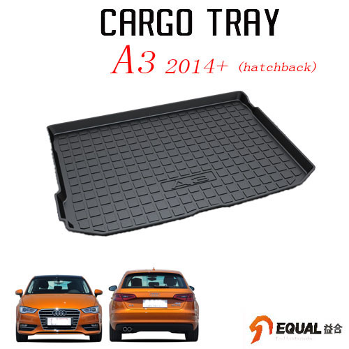 For Audi A3 Hatchback trunk mat water proof trunk tray 3D car mat