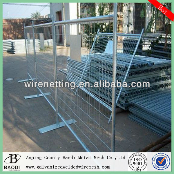 cheap wire grid temporary construction site fencing