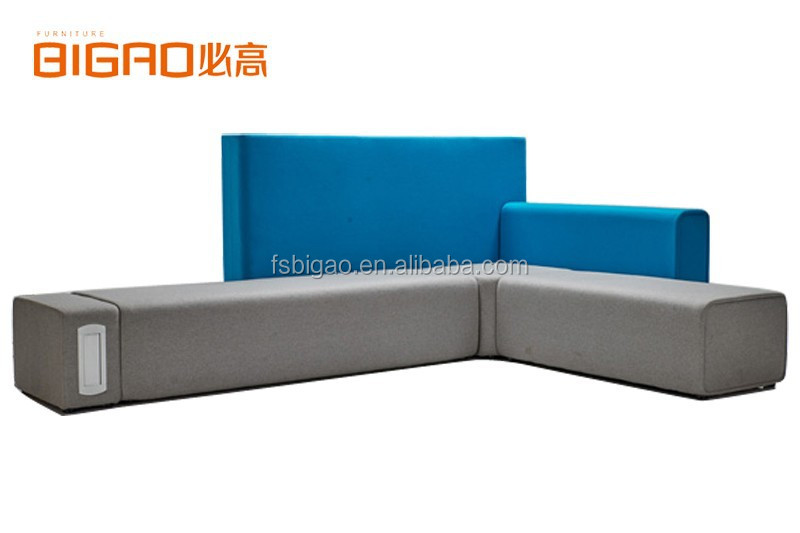 BiGao L Shaped Sectional Sofa with Fabric Upholstered