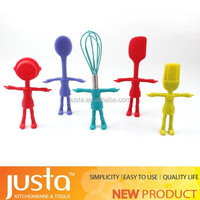 Food grade silicone cooking tool set silicone kitchen utensil set