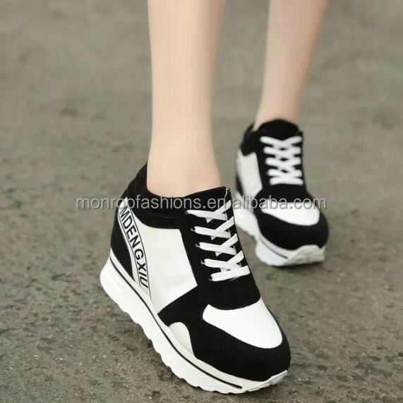 monroo korea style girls sneakers casual running safety shoes for women