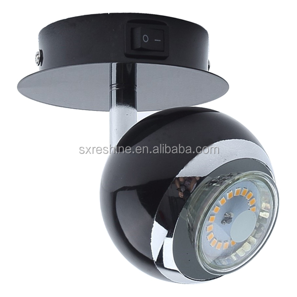 single spot decorative indoor GU10 wall LED spot light lamp 3W hot sellers for EU market