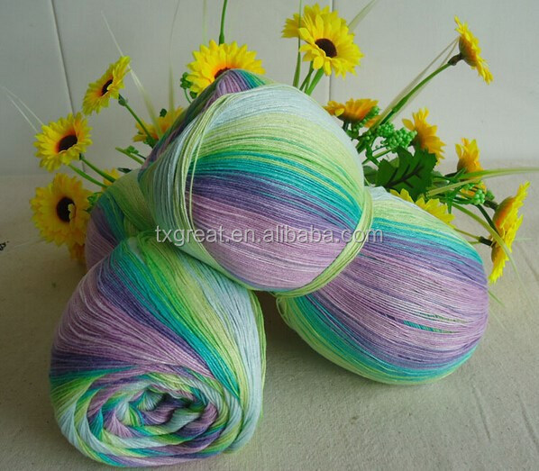 2015 fashion organic cotton yarn importers