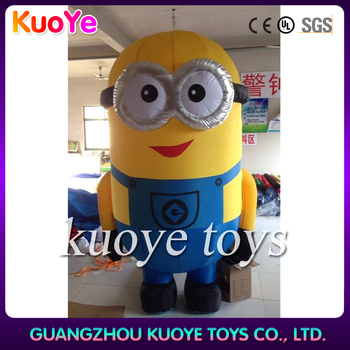 inflatable cartoon character for sale ,yellow cartoon characters,inflatable minion