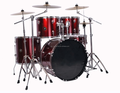 HANGZHOU Factory sell TPJ 5 PCS drum set