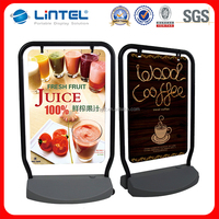 Stand Roll Up Banner Water Base Outdoor Display Poster Board