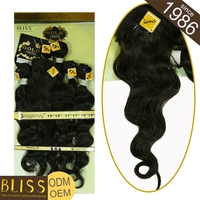 Easy To Dye With Packaging Natural Color Body Wave Brazilian Virgin Hair