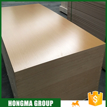 High quality Furniture Plain MDF Board / melamine MDF