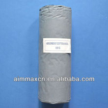 Craft paper wrapping absorbent cotton wool for medical use
