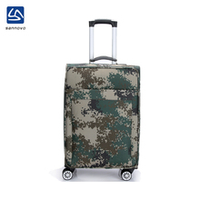 2017 high quanlity casual camouflage new wheels luggage bag