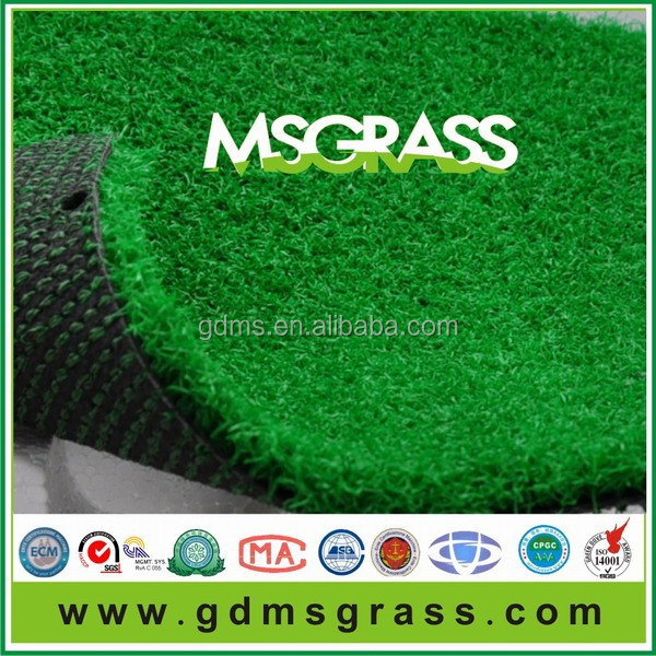 PP curved monofilament cricket grass artificial grass mat grass floor mat