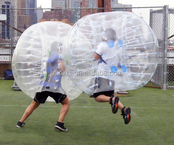 1.5m (5ft) Diameter cheap giant bubble soccer adult bumper ball