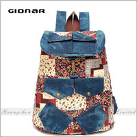 Gionar Brands Hot Selling Turkey Women Hiking School Military Backpack Canvas