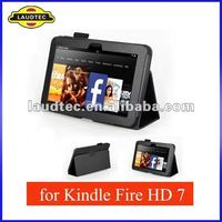 Cheapest Stand Leather Case Cover Shell for Amazon Kindle Fire HD 7 Tablet,New Listing