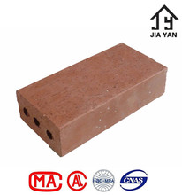 Fire rated solid plaza red clay paver bricks